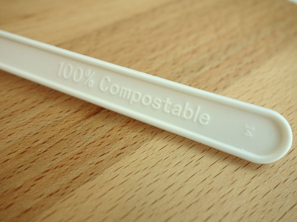 CPLA Plant-based Compostable Plastic-free Renewable 7 inch Cutlery5
