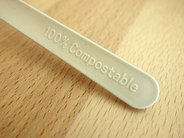 CPLA+Bamboo Plant-based Compostable Plastic-free Renewable 7 inch Cutlery9